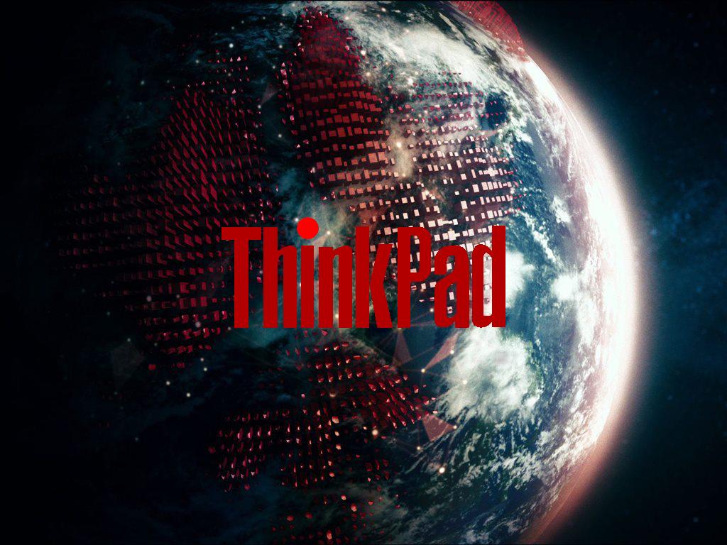Simple ThinkPad Wallpaper By Marioman23
