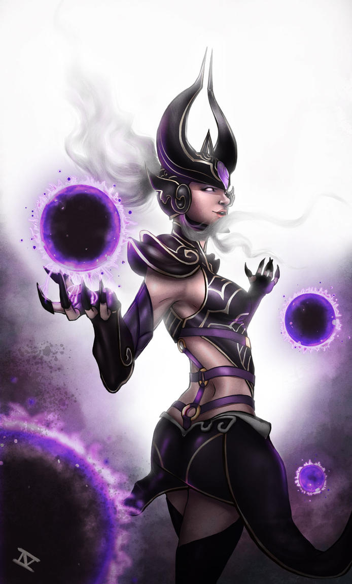 Syndra - League of Legends by IVbenjamin
