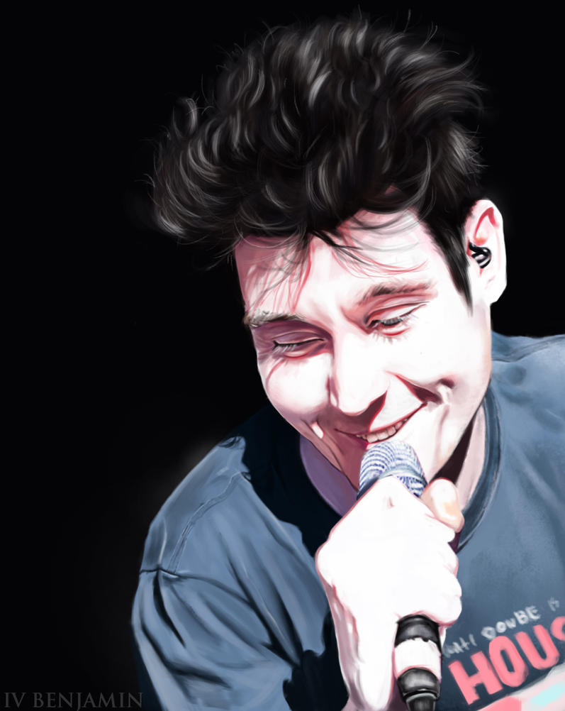 Just another painting of Dan Smith by IVbenjamin