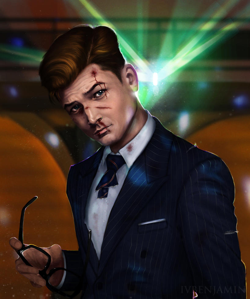 Kingsman: The Secret Service - Eggsy Unwin by IVbenjamin