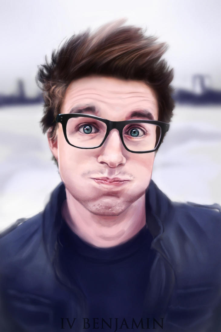 Youtubers 4: Marcus Butler by IVbenjamin