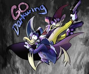 Go Go Darkwing Power by Dya-DyaFedya