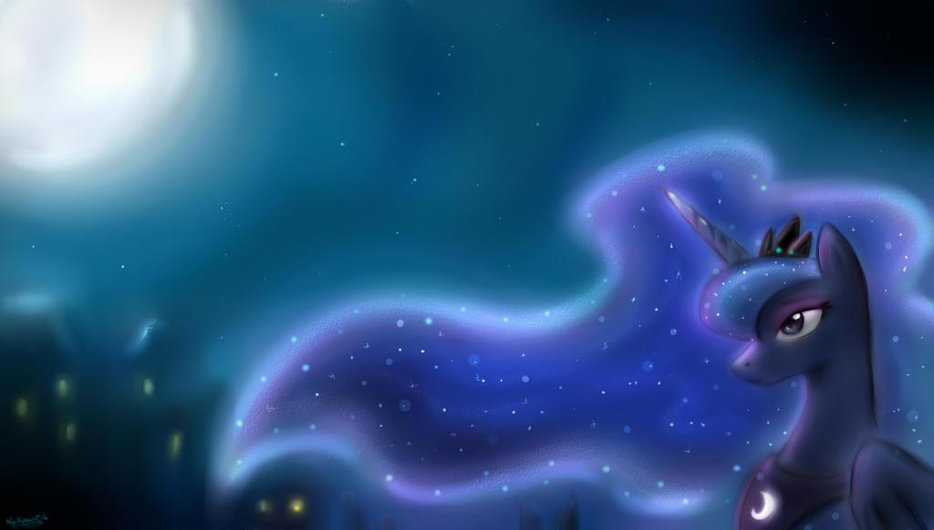 Princess Luna by NyuKyosumi213
