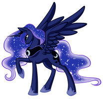 Princess Luna by MagicaRin