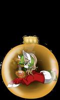 Ornament Ponies: Vanilla Latte