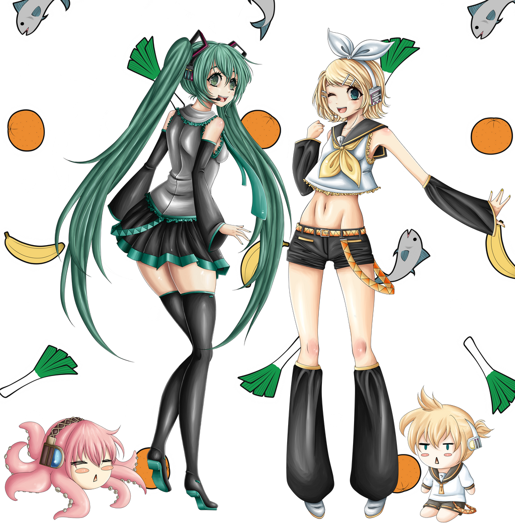 Have some Vocaloid by MagicaRin