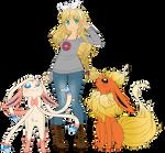 Pokemon Trainer OC redrawn