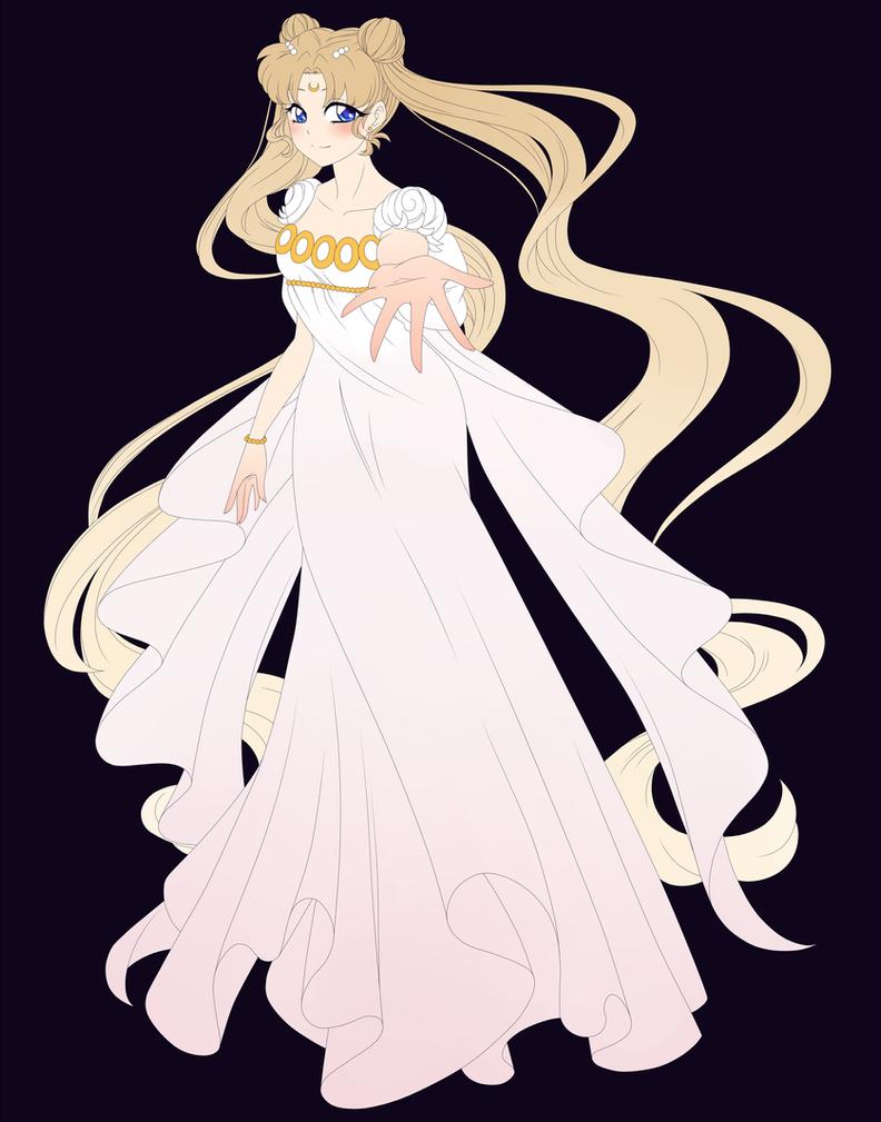 Princess Serenity WIP by MagicaRin