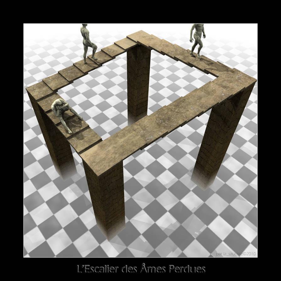 Escher Tribute by lasaucisse
