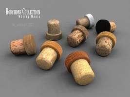 Cork bottle cap by lasaucisse
