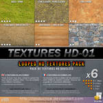 Free Textures : 009-Textures-HD-01 (v2)