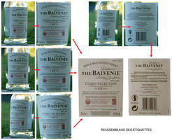 The Balvenie - work on tags texture