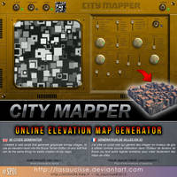 CITY MAPPER (Online script for Bryce and more)