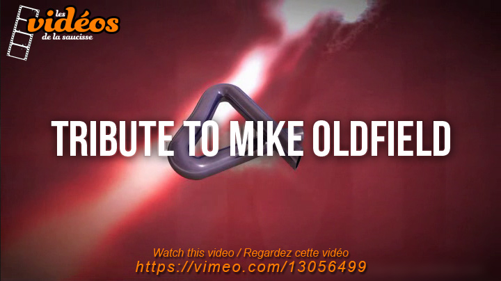 Tribute to Mike Oldfield (animation / video) by lasaucisse
