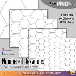 Free Stuff : Hexagons