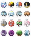 New Pokeballs