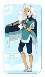 Cirra - Flying Gym Leader by SeraCross