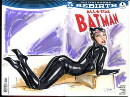 Catwoman Wraparound by Artfulcurves