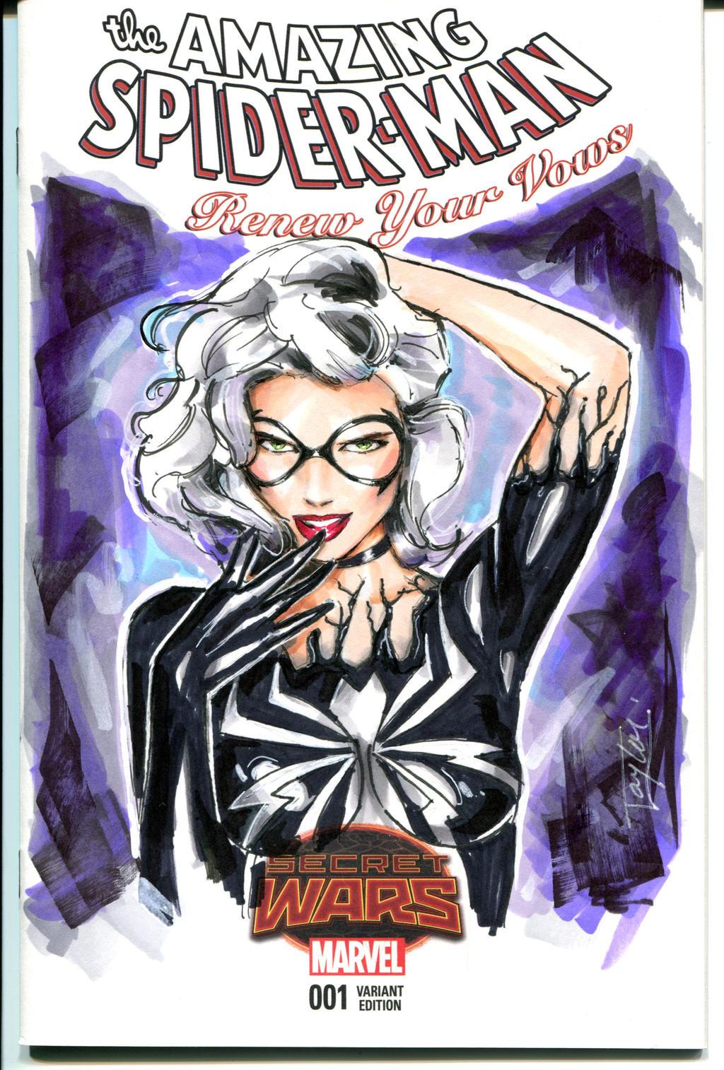 Black Cat-Venom'ized by Artfulcurves on DeviantArt