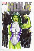 She-Hulk by Artfulcurves