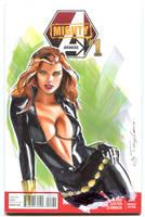 Black Widow-Natasha Romanov by Artfulcurves