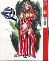 Scarlet Witch by Artfulcurves