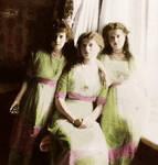 Olga, Anastasia and Maria