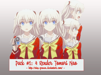 [Pack Render #1] Tomori Nao by Chess-Hire