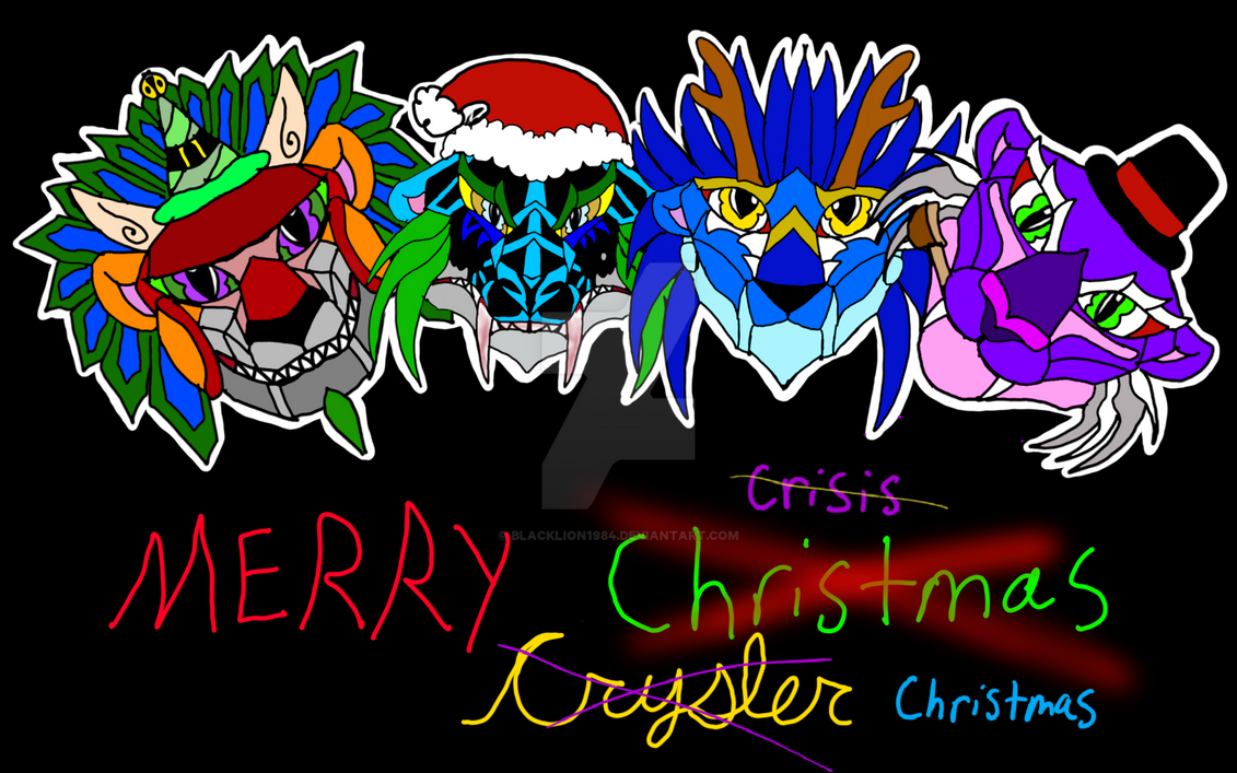Merry Crisis Chrysler and Christmas  by Blacklion1984