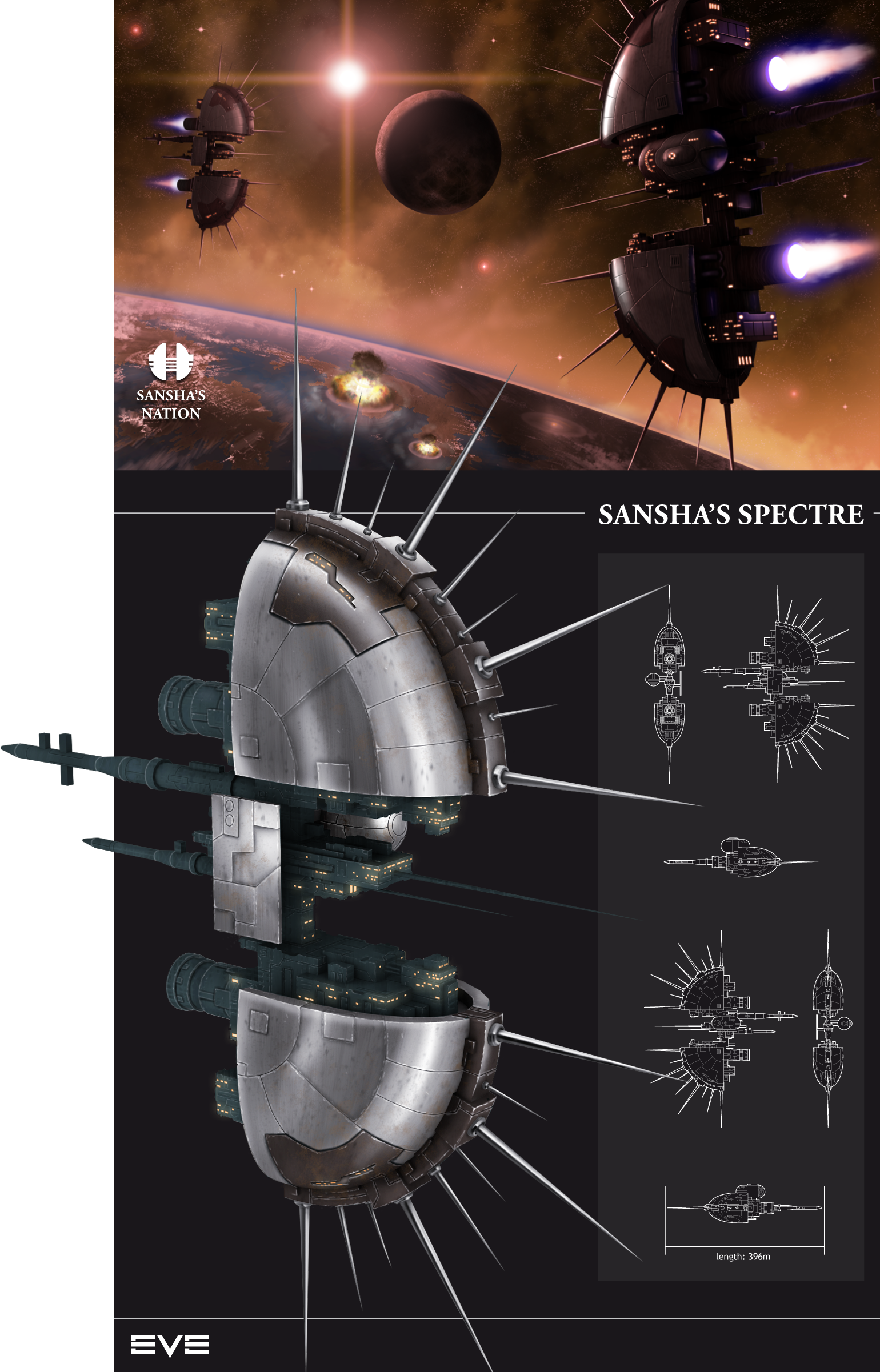 Sansha's Spectre by Krats