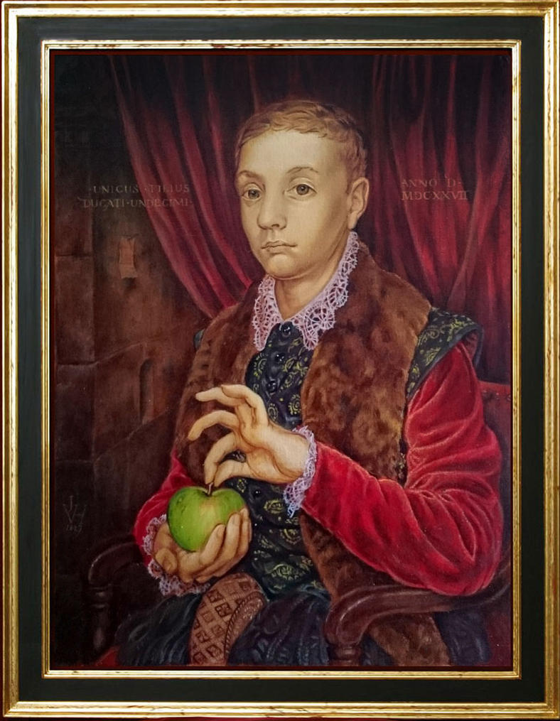 Grand Budapest Hotel Boy With Apple