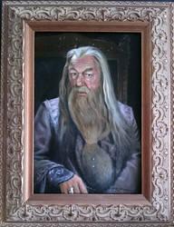 Dumbledore portrait by Krats