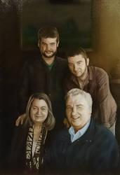 Family portrait by Krats