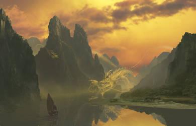 Dragon River by Krats