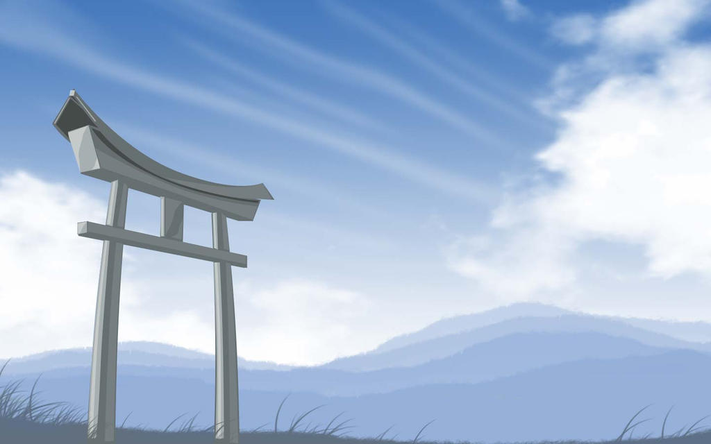 Torii Wallpaper By Krats On Deviantart