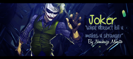 Joker Signature by NimikazeMinato
