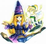 Summoning Fairy -colored-