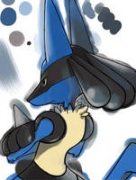 Lucario by zx45