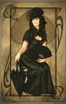 Art Nouveau: Queen of Spades
