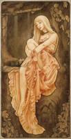 Art Nouveau: The wish by artofdaniel