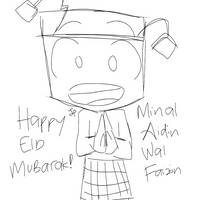 Adu Du Says Happy Eid Mubarak [SKETCH]