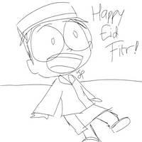 Dib Happy Eid Fitr   SPEED SKETCH
