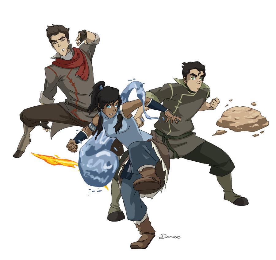 Team Avatar: Team Avatar By Lostatsea101 On DeviantArt