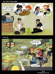 Hero School: Friday Night by lostatsea101