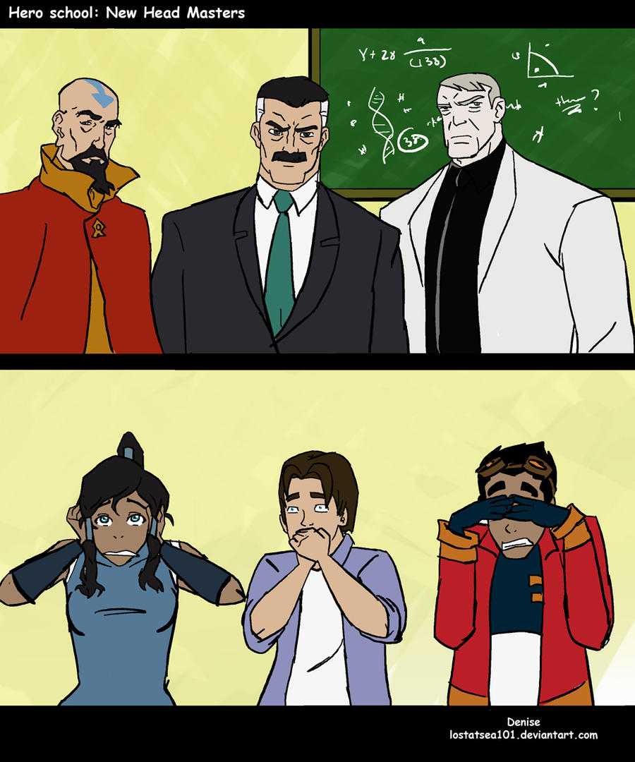 Hero School: New Head Masters! by lostatsea101