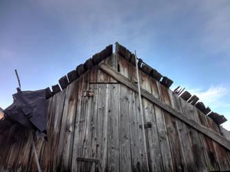 Old barn by Eshkin-Kat