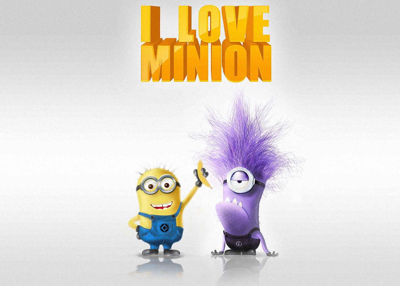 Despicable me purple minion