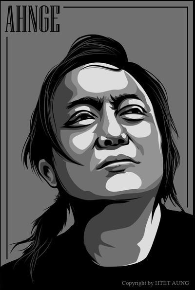 Myanmar Famous Rocker AHNGE  by twentyx91