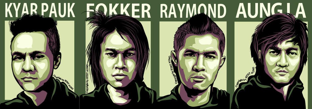 Myanmar Famous Rock Band S.I.R by twentyx91
