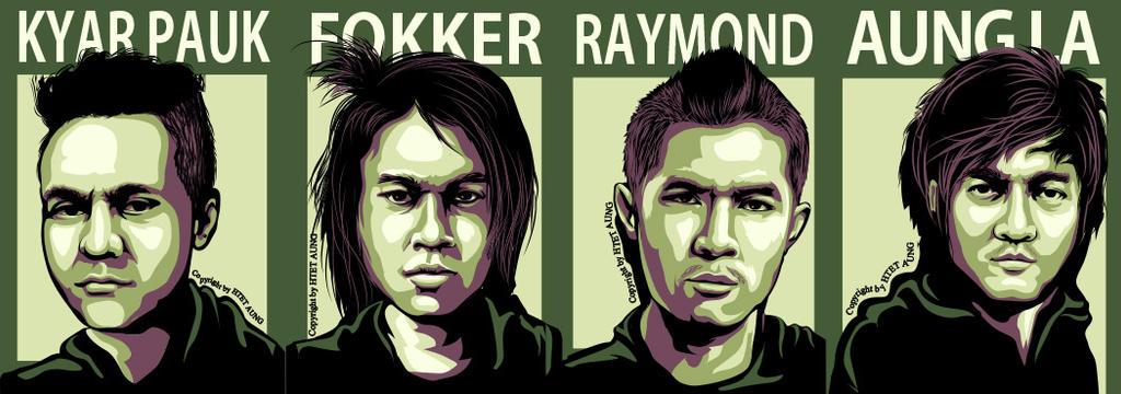 Myanmar Famous Rock Band S.I.R by twentyx91